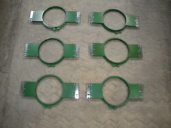 6 Tajima 18 Original Vintage Hoops For Commercial Embroidery Machine