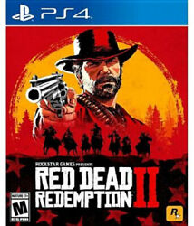 Red Dead Redemption 2 Ps4. Free Shipping. Brand New.