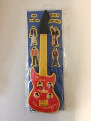 The Beatles Yellow Submarine Rare Toy Guitar In Packaging Collectible