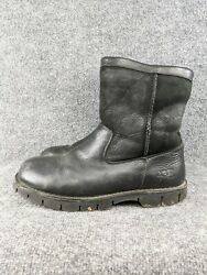 Ugg Mens Size 10 Beacon Leather Calf Length Boot