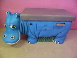 Pedia Pals Zoopals Hippo Infant Pediatric Childrens Medical Exam Room Table Bed