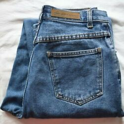 Vintage Bill Blass Easy Fit High Rise Tapered Jeans - 28