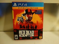 Red Dead Redemption 2 Ultimate Edition Ps4 Steelbook Map