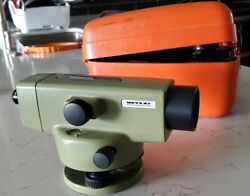 Wild Heerbrugg Level And Theodolite In Good Working Condition.