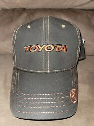 Toyota Wax Canvas Hat Truckers Hat New..