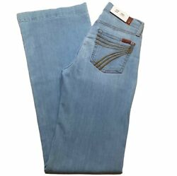 7 For All Mankind Womens Dojo Flare Jeans Size 27 Nwt