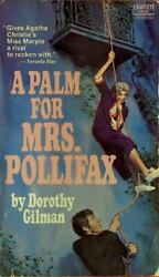 Mrs. Pollifax Mystery Ser.: A Palm for Mrs. Pollifax by Dorothy Gilman 1973...