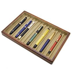 Toyooka Kingdom Note Special 15 Fountain Pens Tray Chest Wooden Stationery