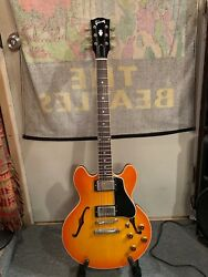 Gibson Cs-336 Electric Guitar 2002 Used W/case And Free Ship