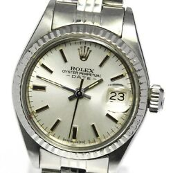 Rolex Oyster Perpetual Date 6917 Cal.2030 Automatic Ladies Watch_641552