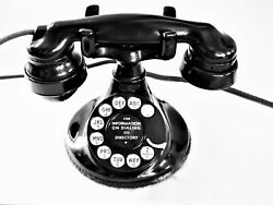 Fully Refurbished Western Electric 102 Telephone With 4 Dial, E-1 And 684 Subset