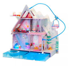 Lol Surprise Omg Winter Chill Cabin Wooden Doll House Playset With 95+...