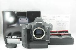 【near Mint In Box】canon Eos-1d X Mark Ii Shutter Count 40783 From Japan 7867