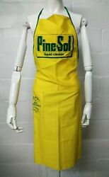 Vintage 1983 Easter Seals Pine Sol Full Apron One Size Fits Most Good Condition