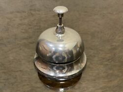 Vintage Reception Bell Counter Desk Service Lobby Shop Hotel Loud Ring