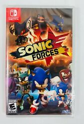 Sonic Forces Nintendo Switch Brand New Sealed Free Shipping