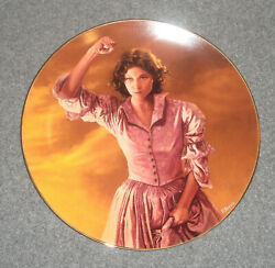 1992 As God Is My Witness Gone With The Wind Plate - Bradford Exchange