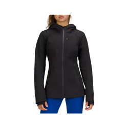Lululemon Womenand039s Cross Chill Black Jacket Repelshell Lw4bohs-blk Authentic New
