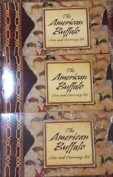 2001 American Buffalo Coin And Currency Set Commemorative With Box And Coa