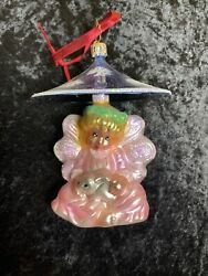 Christopher Radko Christmas Ornament Dated 2012 Place Of Peace