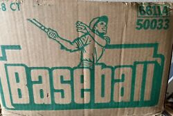 1989 Opc Baseball Unopened Wax Box Lot Of 10 From A Case O-pee-chee