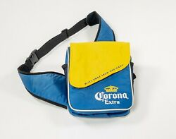 Corona Extra 👑 Mini Softside Cooler Lunch Bag 6 Bottles 12 Can Yellow Blue