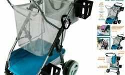 Beach And Field Utility Folding Cart - Compact Collapsible Beach Pearl Blue