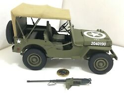 Danbury/franklin Mint 116 1942 Wwii Willy's Jeep Us Army Classic Model Boxed 18