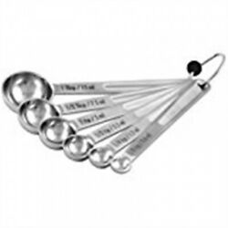 Cia Masters Collection 6 Piece Measuring Spoon Set. Brand New
