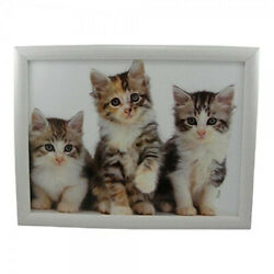 Mars And More Lap Tray Kittens Size 43x33x7 Cm. Shipping Is Free