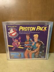 1984 Ghostbusters Proton Pack 💎afa 80💎 80andrsquos Toys Original Sealed In Box And Case