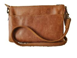Genuine Leather Women#x27;s Crossbody by Able: preowned Great Condition $85.00