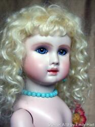 Steiner A19 Bebe Undressed Porcelain Doll By Emily Hart