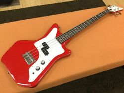 Eastwood Guitars Jetsons Jr Bass/red