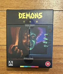 Demons 1 And 2 4k Uhd 2-disc Replacement Disc Arrow Video Limited Region Free