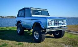 1969 Ford Bronco Coyote 5.0 Custom Pro Touring 1969 Ford Bronco Coyote 5.0 Custom Pro Touring 1000 Miles Brittany Blue Suv Aut