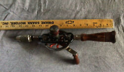 Vintage Millers Falls No. 2 Hand Drill Egg Beater Made In Usa