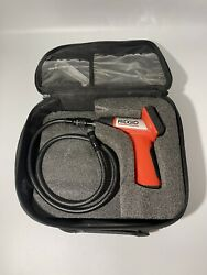 Ridgid Seesnake Micro Handheld Inspection Camera With 3 Foot Extension And Case