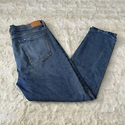 Citizens Of Humanity Womenand039s Blue Olivia High Rise Slim Ankle Jeans Size 32