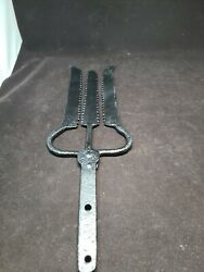 Rare Antique Handmade 3 Prong Frog / Fish /eel Gig Or Spear 21 Inches Long