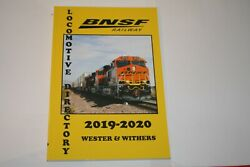 Book--bnsf Railway Locomotive Directory 2019-2020 Wester/withers