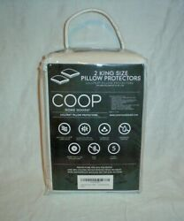 Coop Home Goods Lulltra Pillow Protectors Set of 2 King Size