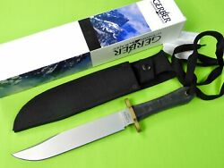 Vintage Us Gerber Model 05978 Large Bowie Fighting Knife And Sheath Box