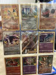 Pokemon Tcg 25th Anniversary Singles And Etbs Tins And Boxes