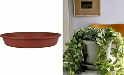 Classic Round Planter Saucer - 24-inch Flower Pot Drip Trays For Terra Cotta