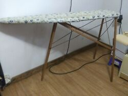 Nice Vintage Antique Wooden Folding Ironing Board From Early 1930and039s