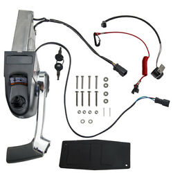 Remote Throttle Control Box And Ignition And Trim Switch Kit For Johnson Evinrude