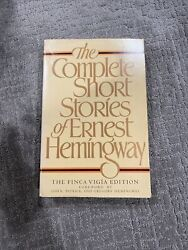The Complete Short Stories Of Ernest Hemingway - First Edition - Finca Vigia Ed.