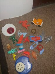 Vintage Cracker Jack And Gumball Toys, Charms And Prizes
