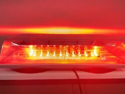 Red Magnetic Led Strobe Emergency Light Bar. Public Safety / Fire And Ems
